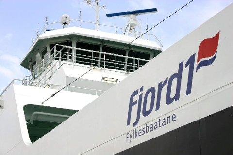 UNDERSKOT: Tysdag presenterte Fjord1 rekneskapen for første kvartal 2020.
