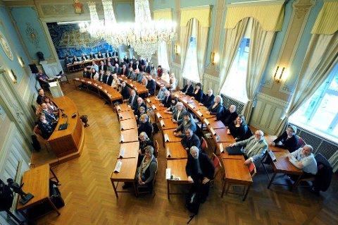 Det gamle bystyret har hatt sitt siste møte, og det nye møtes i oktober. Arkivfoto: Geir A. Carlsson