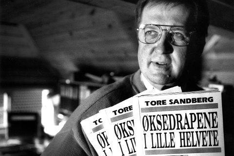 Kommer: Privatetterforsker Tore Sandberg jobbet iherdig for å få Per Liland renvasket. 19. oktober vil han trekke en linje fra dobbeltdrapene i Lille Helvete i 1969 til trippeldrapet på Orderud Gård i 1999. Bildet er tatt i 1992.Arkivfoto: Geir A. Carlsson