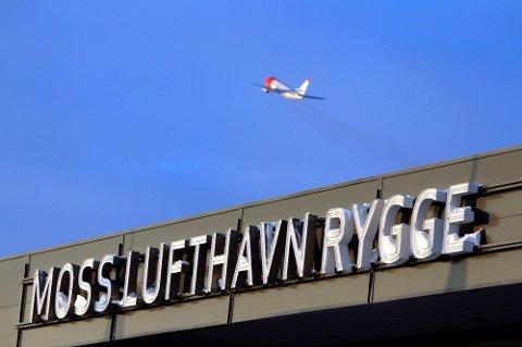 Klart for siste tur: Lørdag letter det siste flyet fra Moss Lufthavn Rygge – i hvert fall i denne omgang.