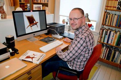 Designklassikere. Forfatter Mats Linder på Selbak har skrevet om de norske designklassikerne fra Rastad& Relling.