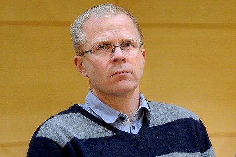 Ingen vilje: Ståle Solberg (bildet) viser absolutt ingen vilje til å legge denne informasjonen til grunn for sitt arbeid med å få lagt alt av jernbaneutbygging utenom Sarpsborg kommune, mener sarpsborgs ordfører.