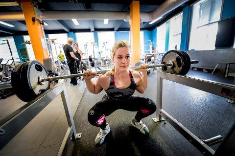 FORVENTER ØKT PÅGANG: Emilie Møller Olsen (23) forventer mye mennesker på Family Club etter nyttår.