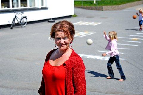Rektor på Åttekanten skole Rita Wiborg