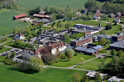 MEGA-MOTTAK: Norges største asylmottak kan bli en realitet på tidligere Veum psykiatriske sykehus. (Foto: Erik Hagen)