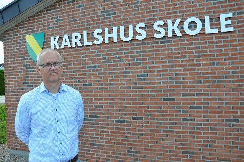 SKOLELEDER: Rektor Tomas Mathiesen er glad for å være med i forskningsprosjektet.