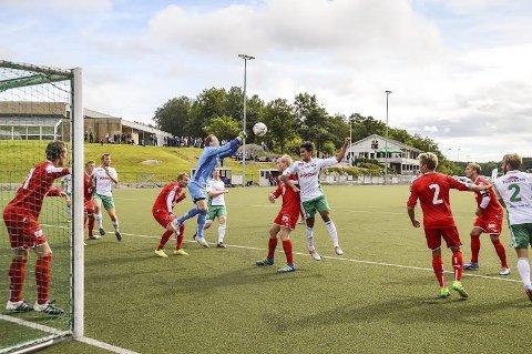 SIKKER PLASS: Kråkerøy har sikret seg en plass i den nye Regions-ligaen. Foto: Victor Engebretsen