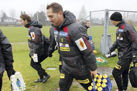 FULLT MANNSKAP: Magnus Powell har ingen skader foran søndagens oppgjør mot FFK på Moan.