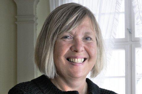 FORNØYD direktør: Gunn Mona Ekornes i Østfoldmuseene er glad for innstillingen til kulturutvalget.Foto: RODERICK EWART