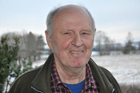 Bjørn I. Olsen har alltid vært stor, sterk og høyreist.