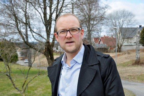 Ole André Myhrvold, ordfører Trøgstad, stortingskandidat Østfold Sp