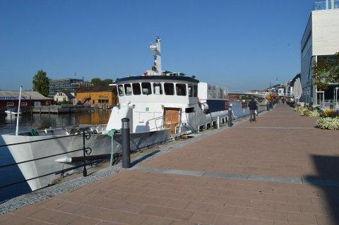 TIL SARPSBORG IGJEN: 1. juli er MS Skjærhalden klar for sommerens første turer mellom Sarpsborg og Fredrikstad.
