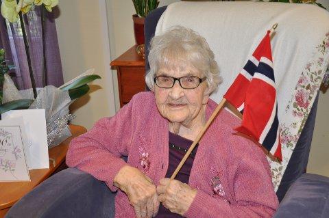 Lilly Jørgensen feirer gjerne 100-årsdagen.