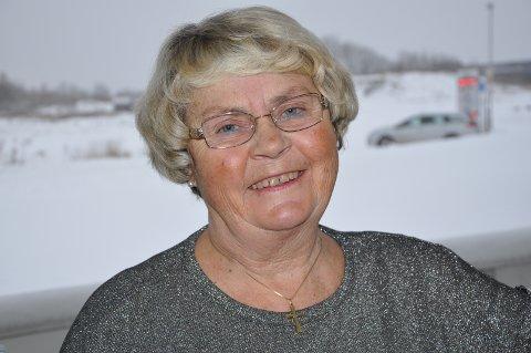 KARAKTERISTISK: Åse-Marit Sundt-Syversen er sosial og veldig glad i å prate.