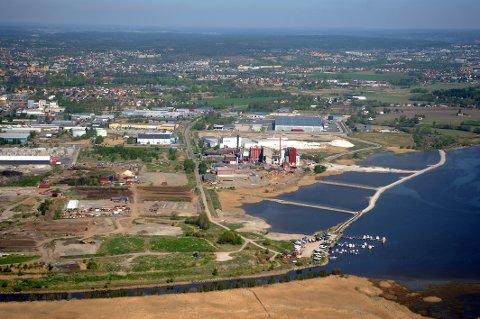 Dammene MDG vil få gjenopprettet lå i området mellom kanalen og industrien, og ligger således utenfor naturreservatet. Det er i dette området det også jobbes for å få til et besøkssenter.  Bilde fra 2008.