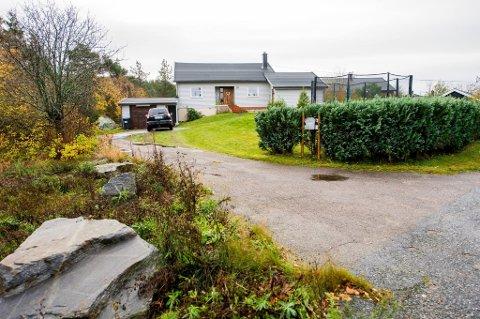 SA NEI: Planutvalget sa blankt nei til å bygge 12 boliger på denne eiendommen i Helneveien.