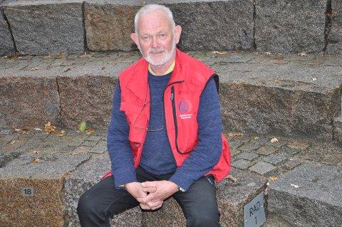 NABO: Paul er nærmeste nabo til Brottet Amfi, hvor han har nedlagt et stort arbeid.