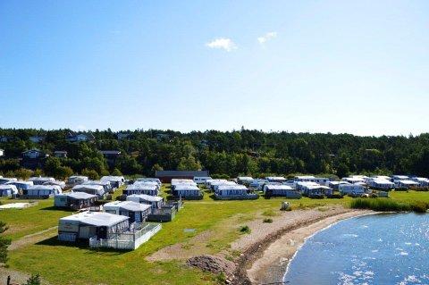 Enhus camping på Kråkerøy er en av distriktets eldste campingplasser.
