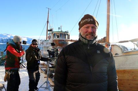 Godt fornøyd: Produsent Espen Horn er stårlende fornøyd med mottagelsen «Den 12 mann» har fått, ikke minst med tre priser.