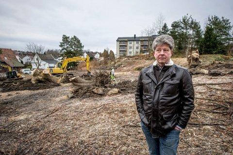 Tapte: Alf Ulven og hans firma tapte mot Fredrikstad kommune i retten.  Han fikk ikke gjennomslag for kravet om å fortsette arbeidene.