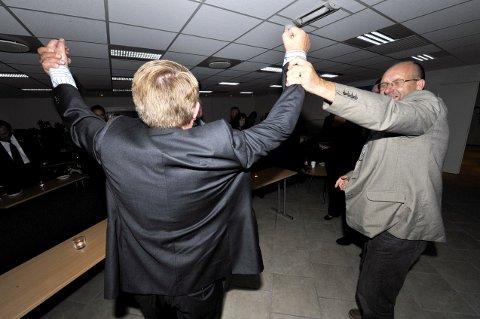 Wiggo Sørlien håper på ny jubel for Eivind Normann Borge som fortsatt ordfører i Hvaler om 15 måneder.