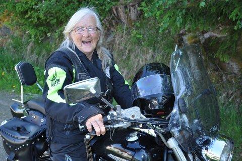 TØFF: Tordis er ikke som alle andre 70-åringer.