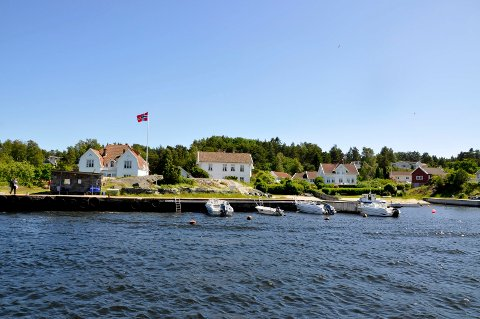 Tett: På Hvaler er det ifølge Statistisk Sentralbyrå 48 hytter per kvadratkilometer.