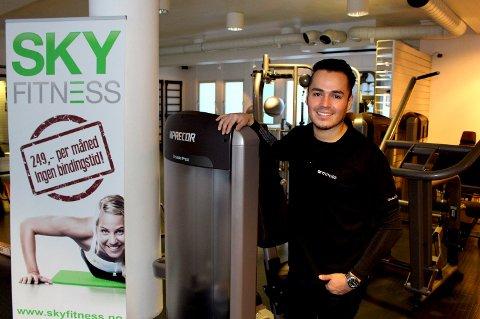 Tror på nytt senter: Gründer Jorge Brito i SKY Fitness tror at Fredrikstad kan være med på å øke medlemsmassen på 16.000.