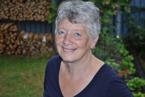 2018: Åsa Danielsen er en aktiv kvinne, blant annet som korsanger, medlem i menighetsråd og leder av lørdagskafé.