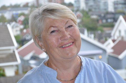 ÅPEN: Gerd Marit har alltid vært en sosial og engasjert person.