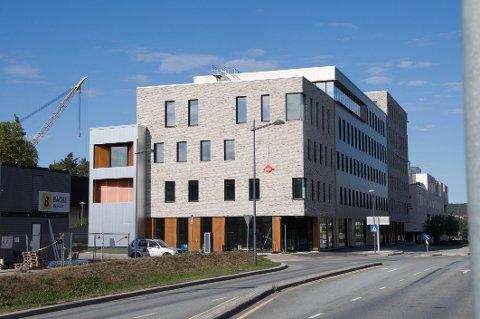 Helsehus 2 hvor Nav flytter inn og hjemmesykepleien får kontorer i 4. etasje.