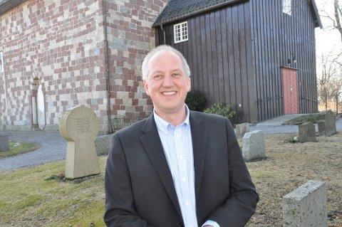 Søker. Tor Bjarne Andresen, sogneprest i Rygge, er en av søkerne til prostestillingen