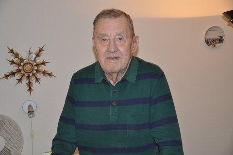 OMSORG: - Familien er så gode mot meg, sier Jan Erik Utberg, som markerer dagen med sine nærmeste.