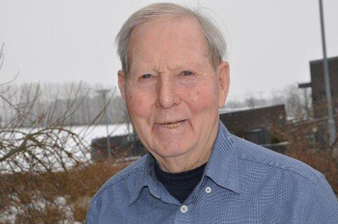 På inntektstoppen: Kristian Olimb (91) står oppført i skattelistene med en inntekt på 10,5 millioner kroner i 2018.