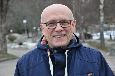 TROFAST: Ole Hauglum har vært prest på Kråkerøy siden 1996.
