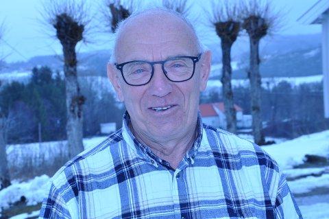 ENGASJERT: Kjell Ringstad er en aktiv person, med stort hjerte for lokalsamfunnet på Nylende.