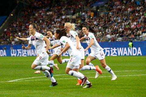 God statistikk: Isabell Herlovsen har lagt ned en heroisk innsats på topp for Norge i VM. Lørdag venter Australia.