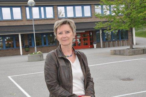 SKOLELEDER: Ann-Heidi Jensen er en engasjert rektor på Rekustad skole.
