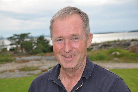 EIER OG LEDER: Tor-Erik Olimb er sammen med sin bror Øystein eier av det store og kjente Olimb-firmaet i Råde.