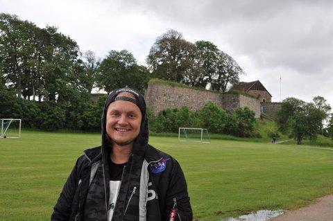 Siste konsert: Petter «Katastrofe» Kristiansen spilte sin siste konsert i Fredrikstad på Kongsten Night. – Rart og fint på en gang.