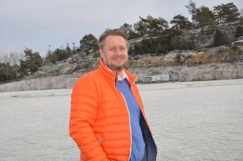 GRESVIK IF: Her i idrettsanlegget i Trondalen er Henning Olsen hjemme.