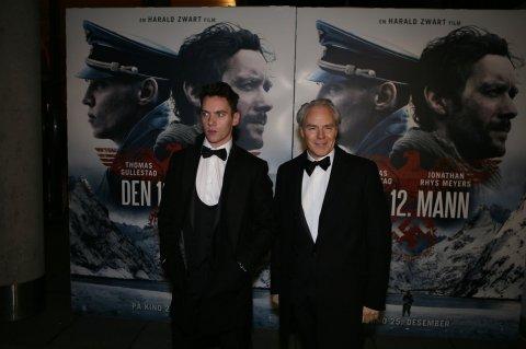 Harald Zwart (til høyre) tok med seg Jonathan Rhys Meyers i en stor birolle i suksessen «Den 12. mann», med première 25. desember 2018. Den hadde eksklusiv førpremière i Fredrikstad 21. desember. Filmen er Fredrikstads mest sette 2010-2019.