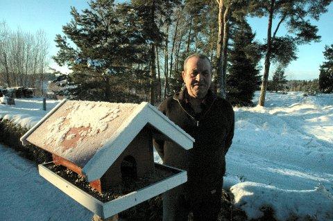 Jan Gunnar Antonsen fotografert på en vinterdag på Veum Søndre.