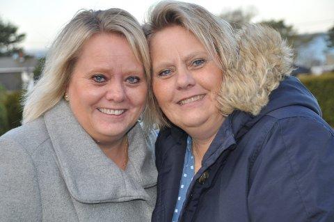 NÆRHET: Mai Brathagen (til venstre) og Eva Bothne er tvillingsøstre i sinn og skinn.
