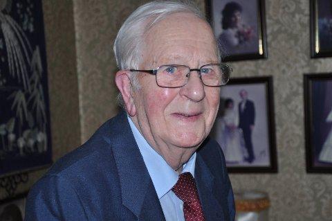 SPREK: Alf Hauge var i virksomhet helt til siste dag.