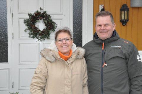 FELLES: Trine og Bjørn Gjersøe er født på samme dag, for 50 år siden, og traff hverandre igjen i 1993.