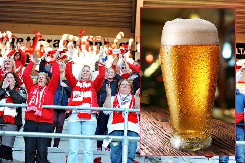 Nå kan trolig supporterne få lov til å drikke øl på Fredrikstad stadion.
