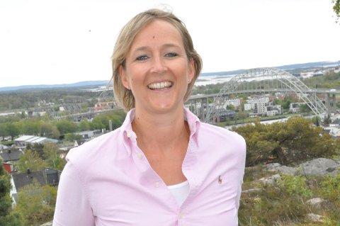 UTSIKT: Anne Kvale Joki bor sammen med ektemannen Reidar og deres tre barn på en av de flotteste tomtene i Fredrikstad.