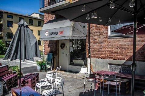 SLUTT: Quarteret café er stengt, etter at skifteretten valgte å tvangsoppløse selskapet.