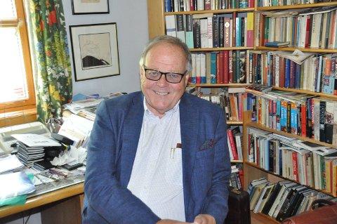 MENINGERS MOT: Geir Lobben Fosvold er en frittalende pensjonert lektor ved Frederik II vgs.